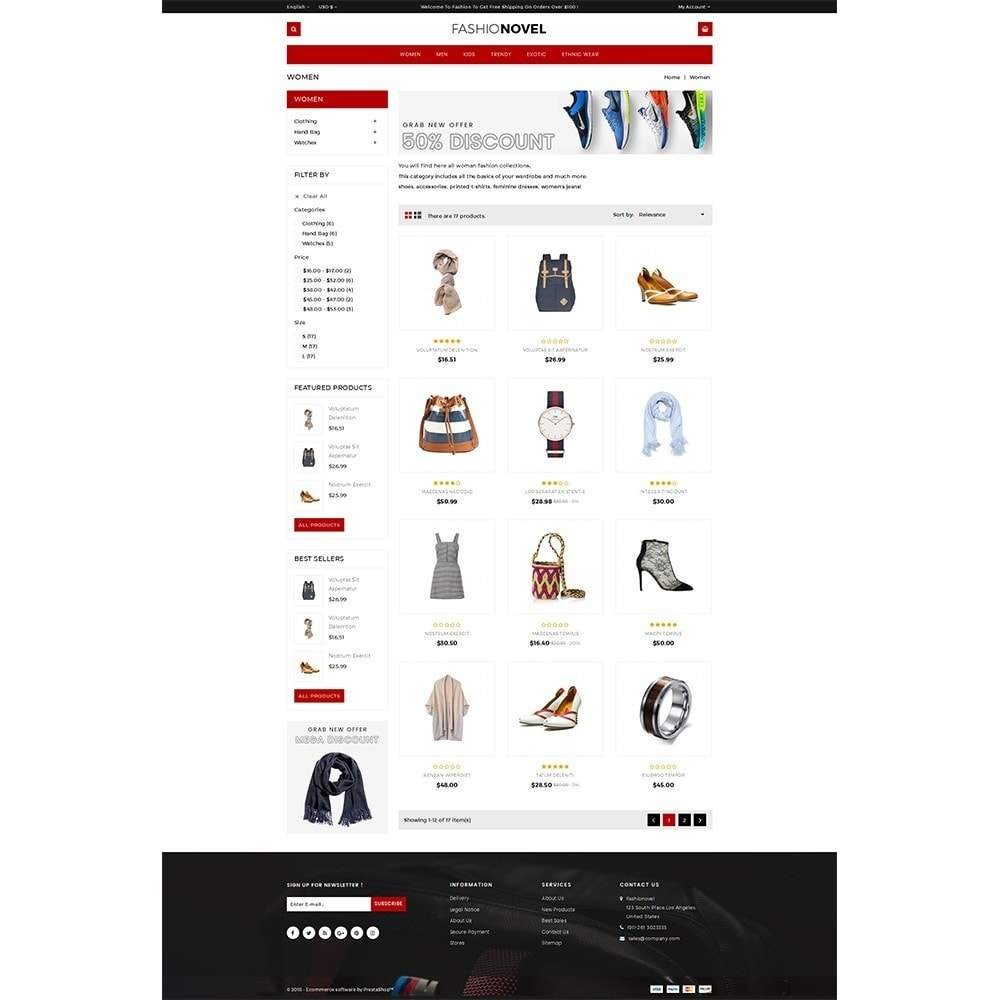 theme - Mode & Schoenen - Fashionovel Store - 3