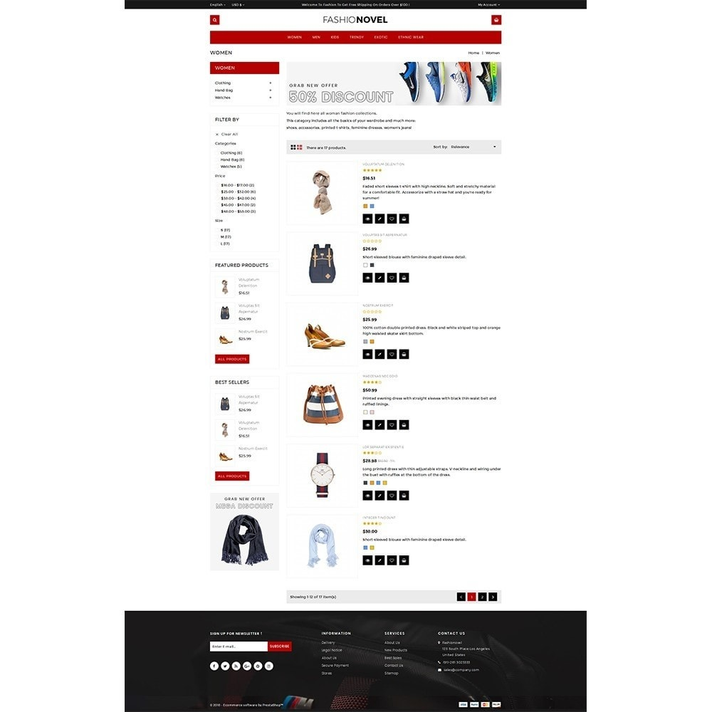 theme - Mode & Schoenen - Fashionovel Store - 4