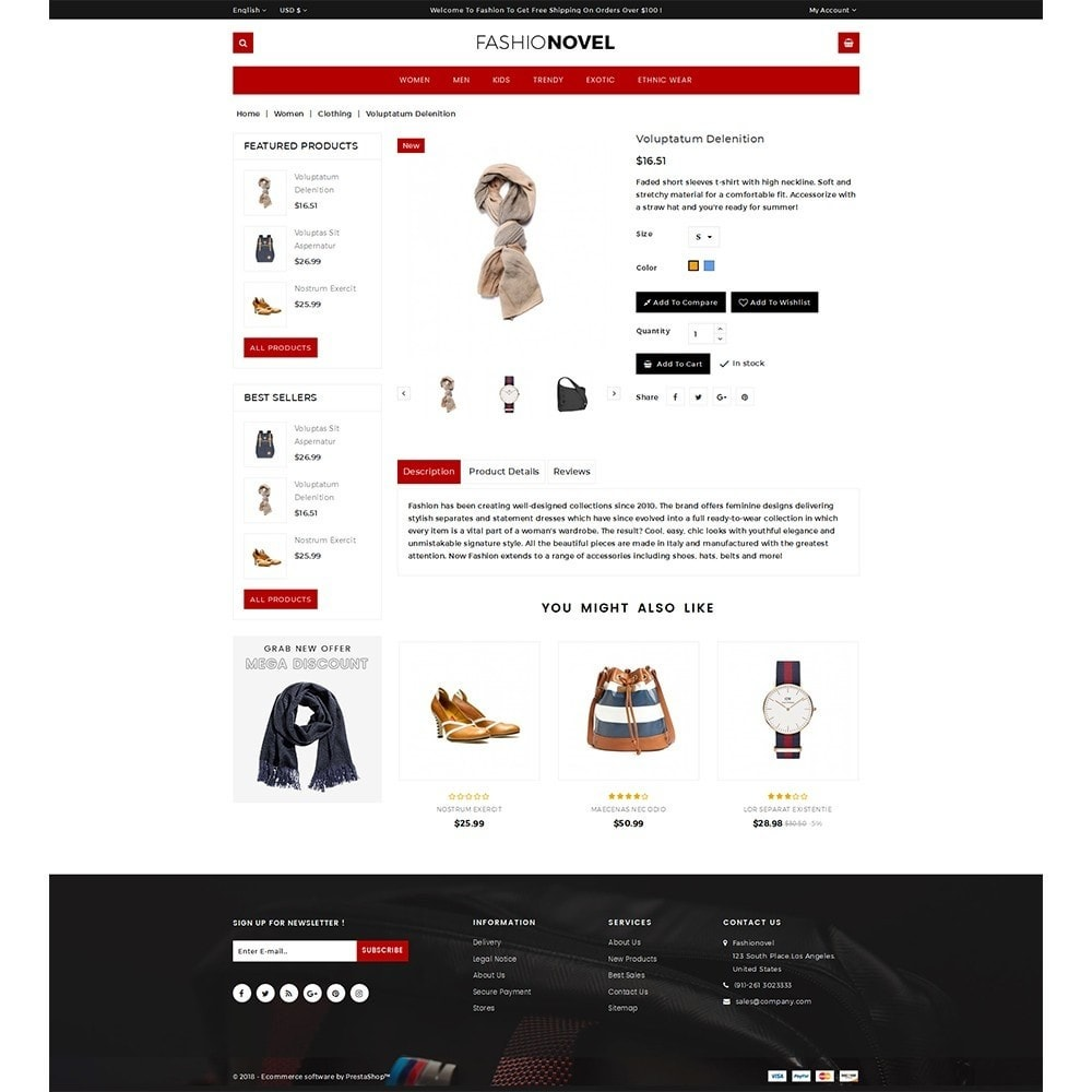 theme - Mode & Schoenen - Fashionovel Store - 5