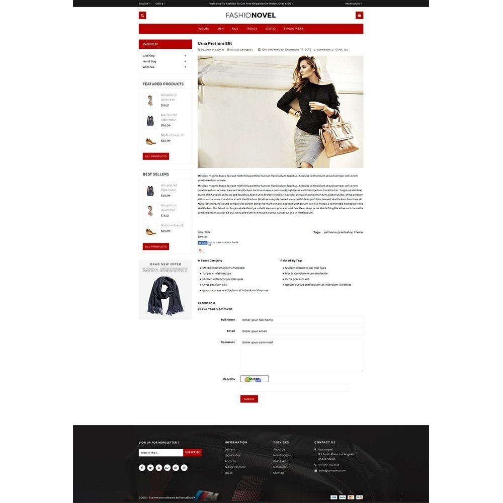 theme - Mode & Schoenen - Fashionovel Store - 6