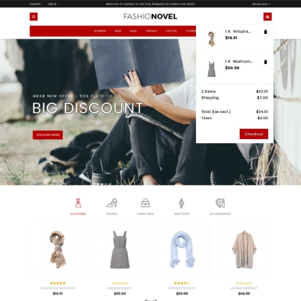 theme - Mode & Schoenen - Fashionovel Store - 8