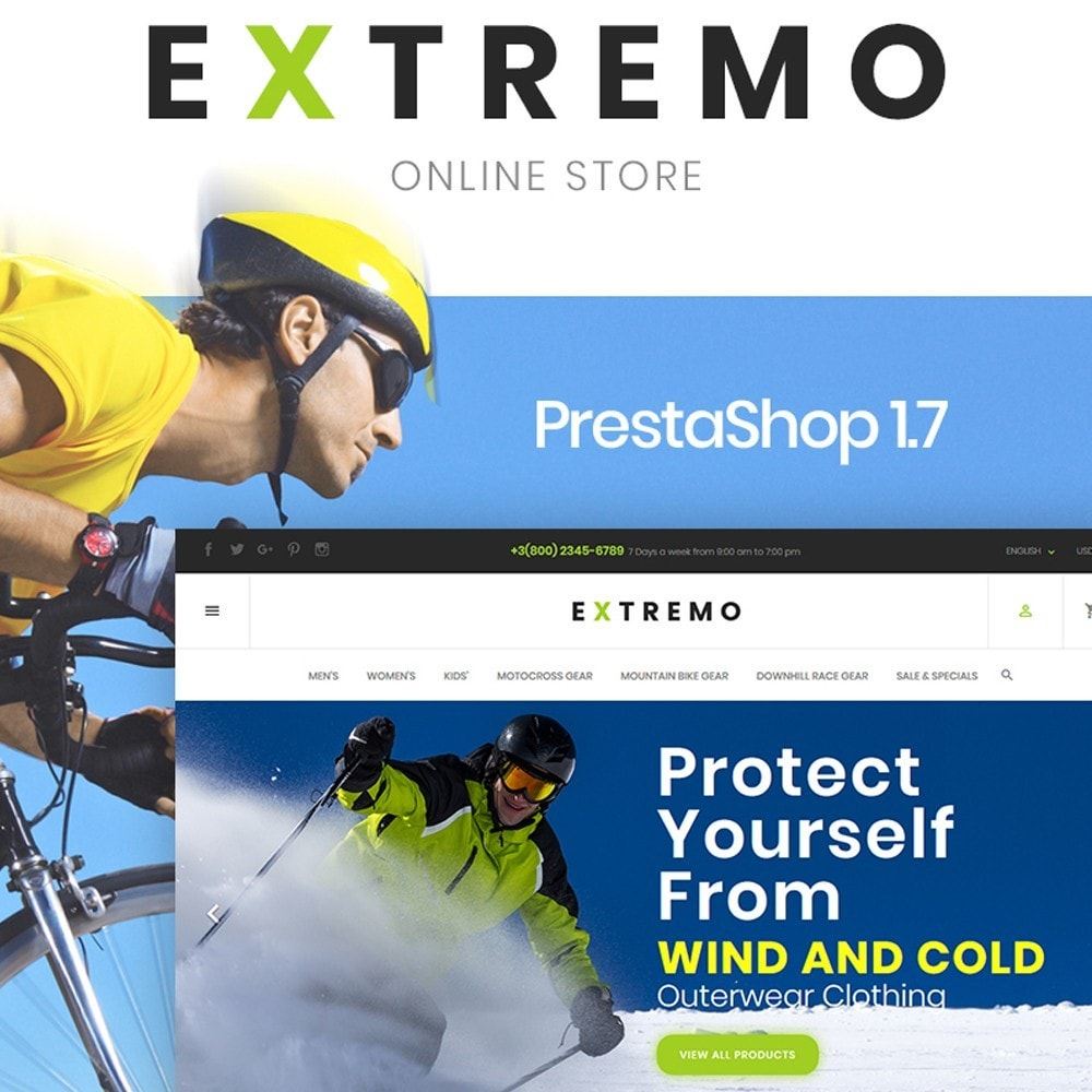 theme - Sports, Activities & Travel - Extremo - 1