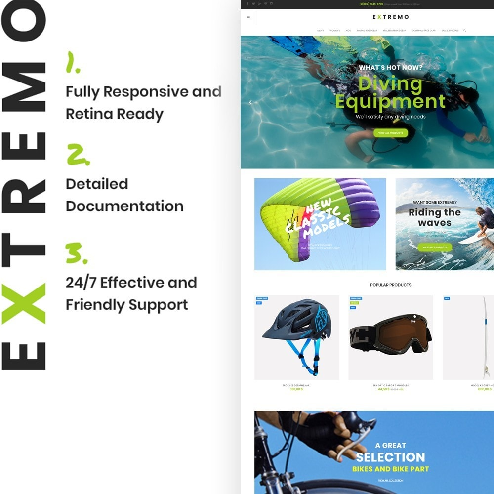 theme - Sports, Activities & Travel - Extremo - 2