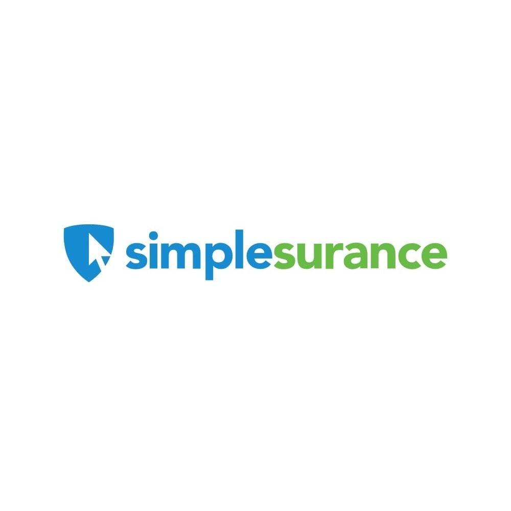 module - Kruisverkoop & Pakketaanbiedingen - Simplesurance cross-selling insurance - 1
