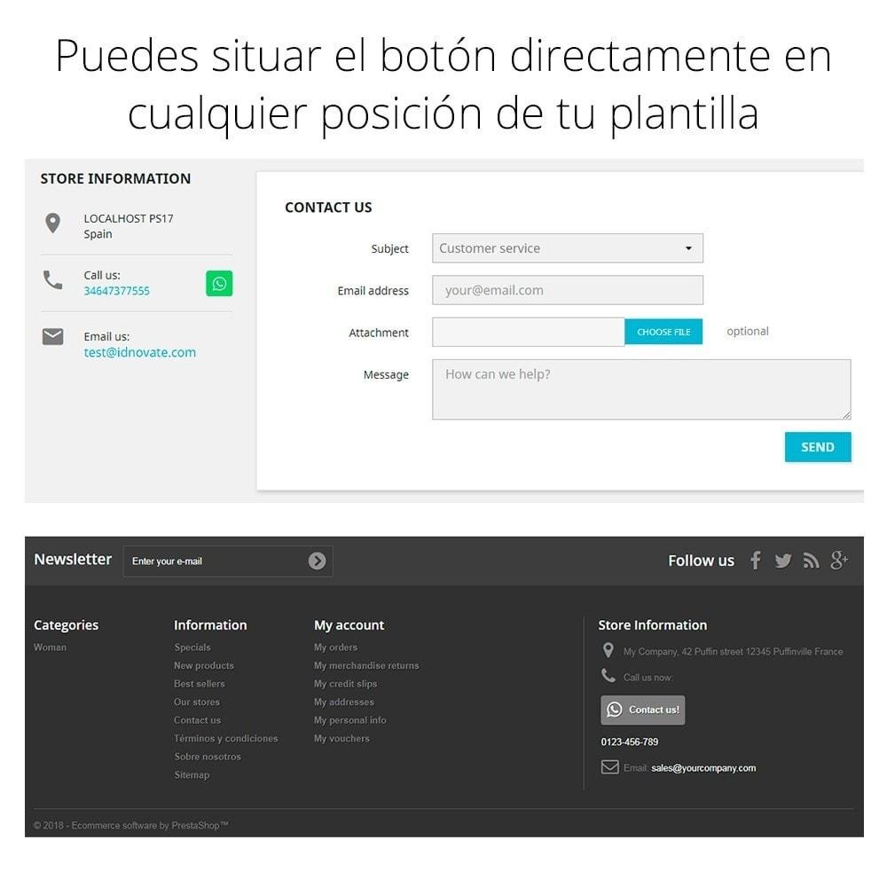 module - Asistencia & Chat online - WhatsApp - Chat con clientes - WhatsApp para Negocios - 14
