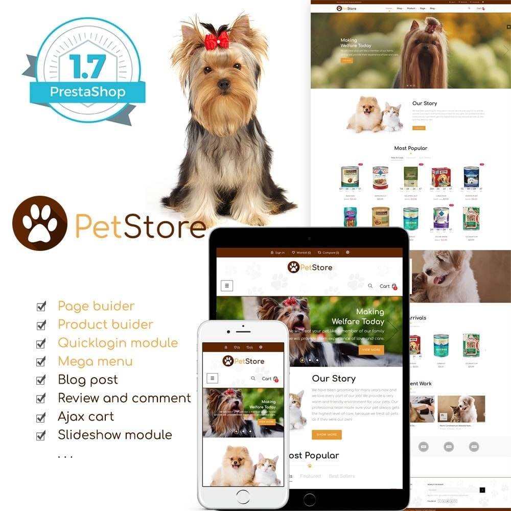 theme - Animais - Pet Store - 1