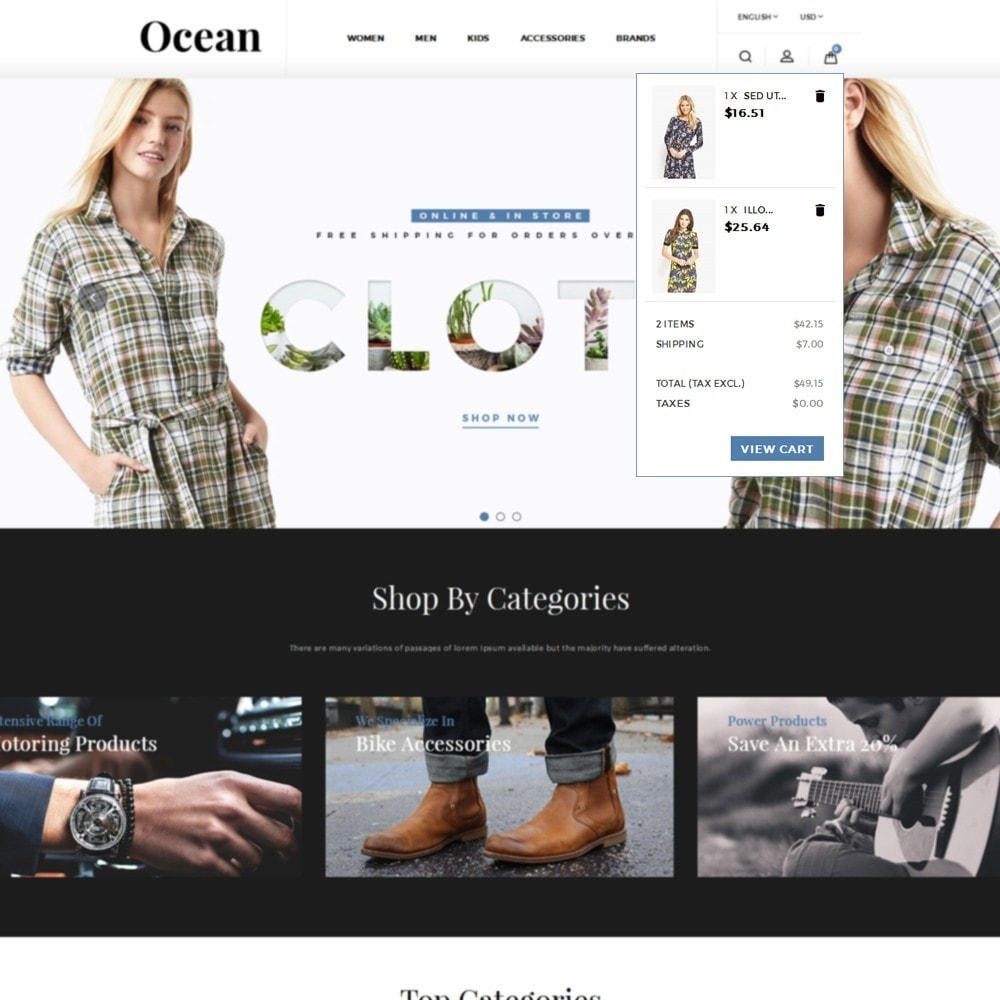theme - Mode & Chaussures - Ocean Fashion Store - 8