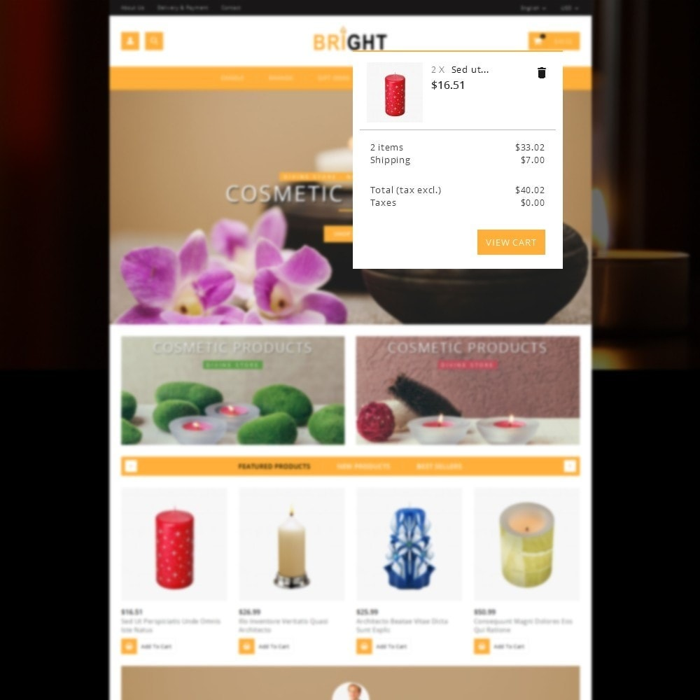 theme - Gifts, Flowers & Celebrations - Bright Candle Store - 8