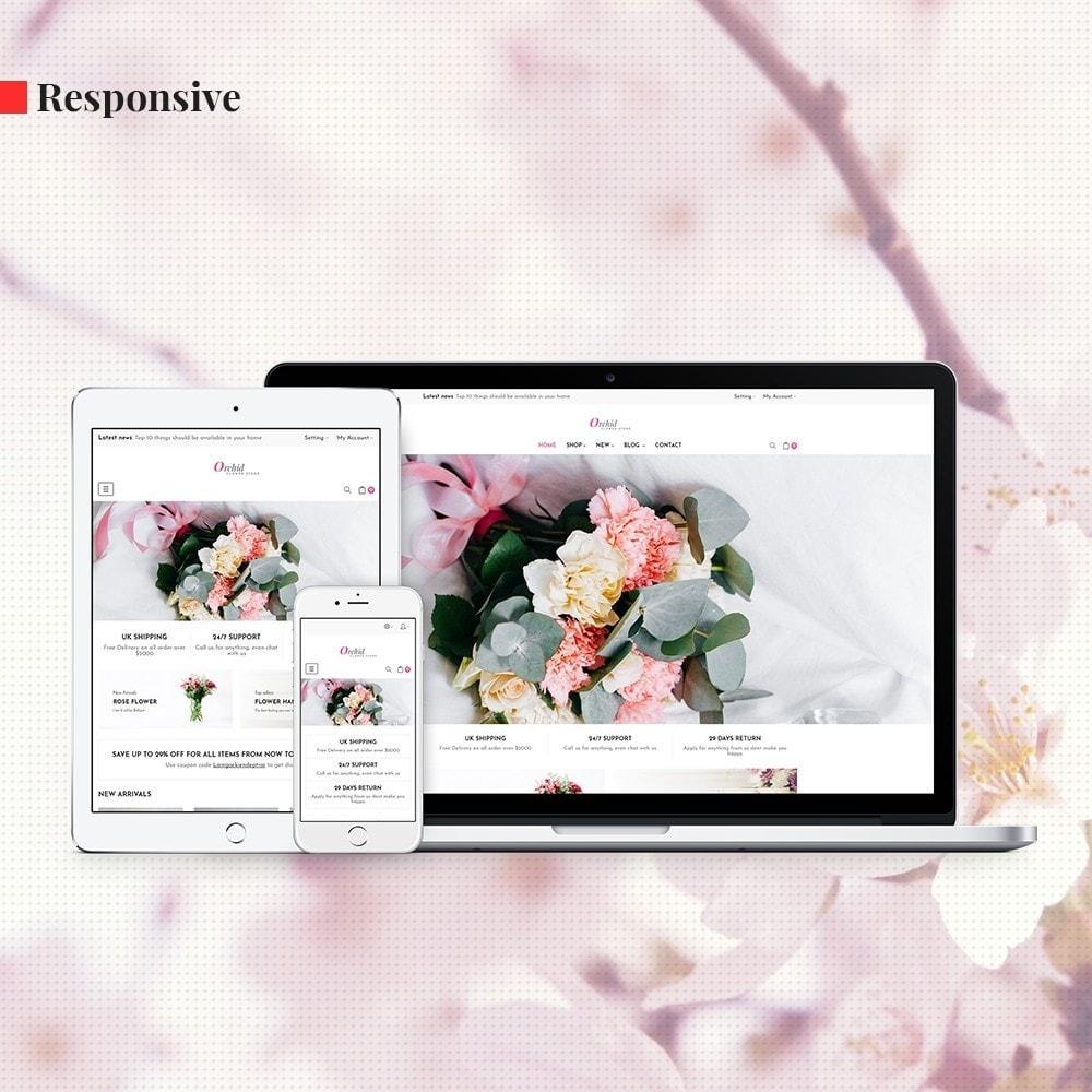 theme - Presentes, Flores & Comemorações - Leo Orchid - 2