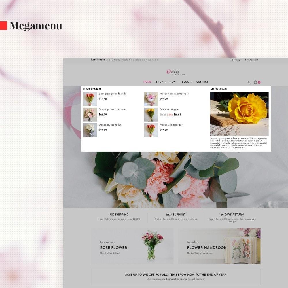 theme - Prezenty, Kwiaty & Uroczystości - Leo Orchid - 4