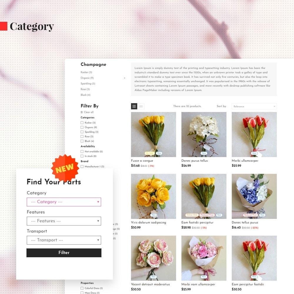 theme - Presentes, Flores & Comemorações - Leo Orchid - 5