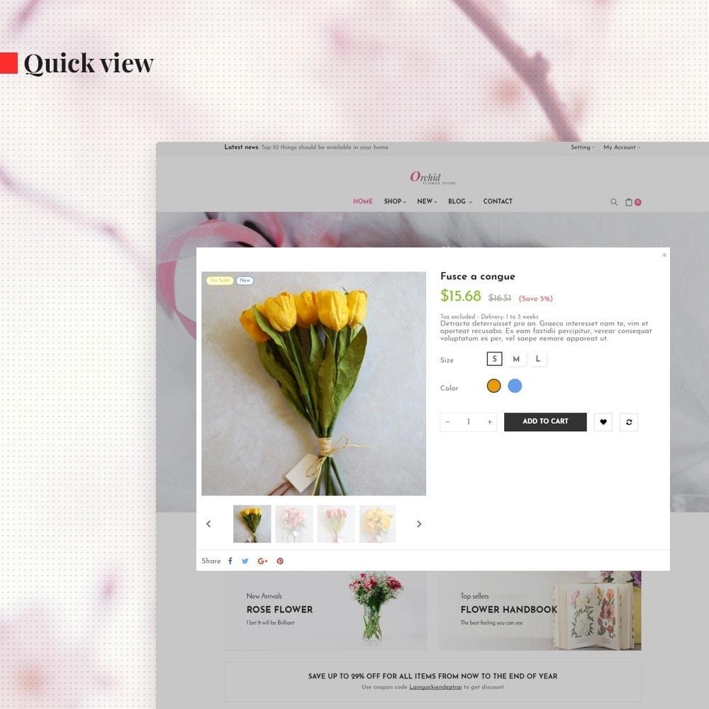 theme - Presentes, Flores & Comemorações - Leo Orchid - 6