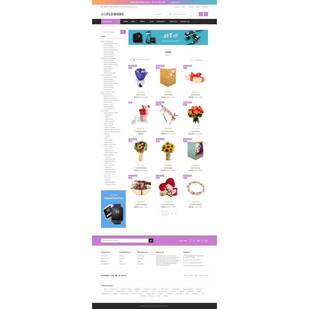 theme - Gifts, Flowers & Celebrations - Gifts, Flowers & Celebrations - Gomarket - 2