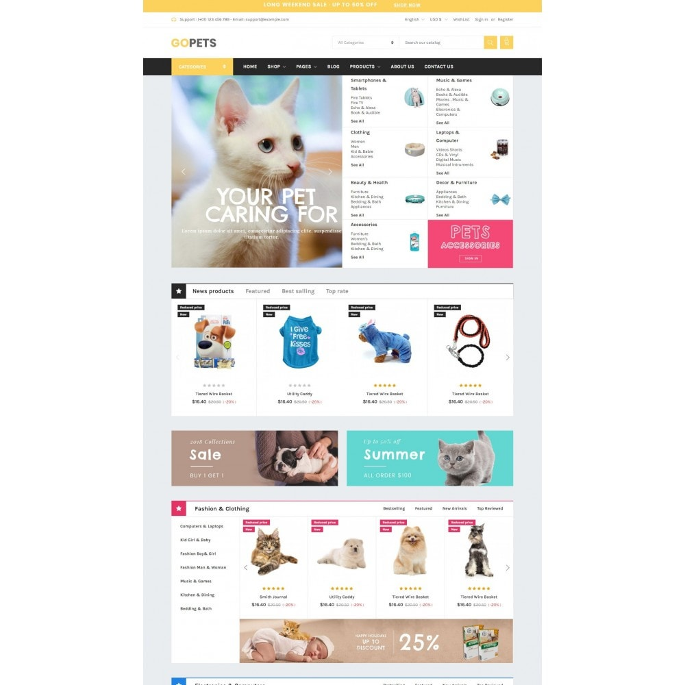 theme - Tier - Animals & Pets - Gomarket - 1