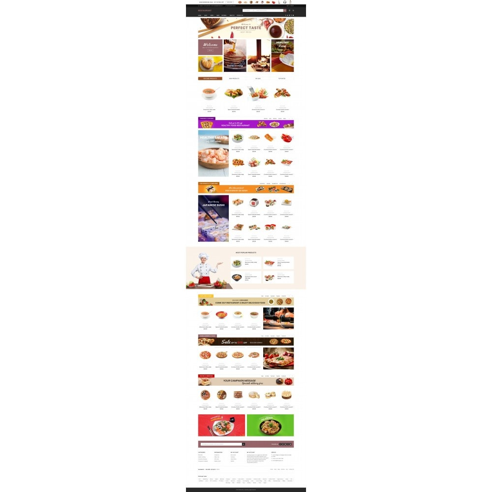 theme - Lebensmittel & Restaurants - Food & Restaurant - Supermarket - 1