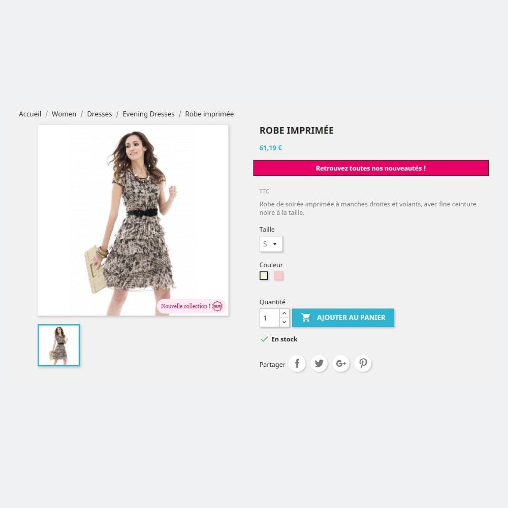 module - Etiquettes & Logos - Labels et Stickers personnalisables - 3