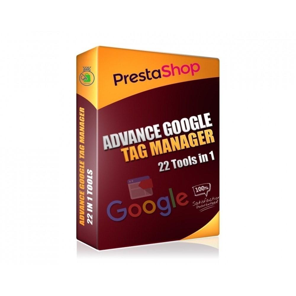 module - Informes y Estadísticas - Google Tag Manager avanzado - PRO - 1