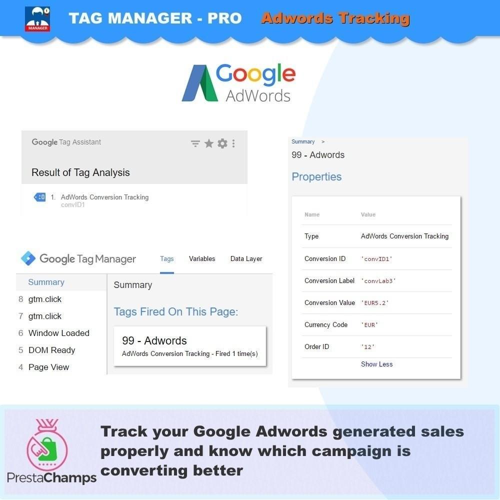 module - Informes y Estadísticas - Google Tag Manager avanzado - PRO - 3