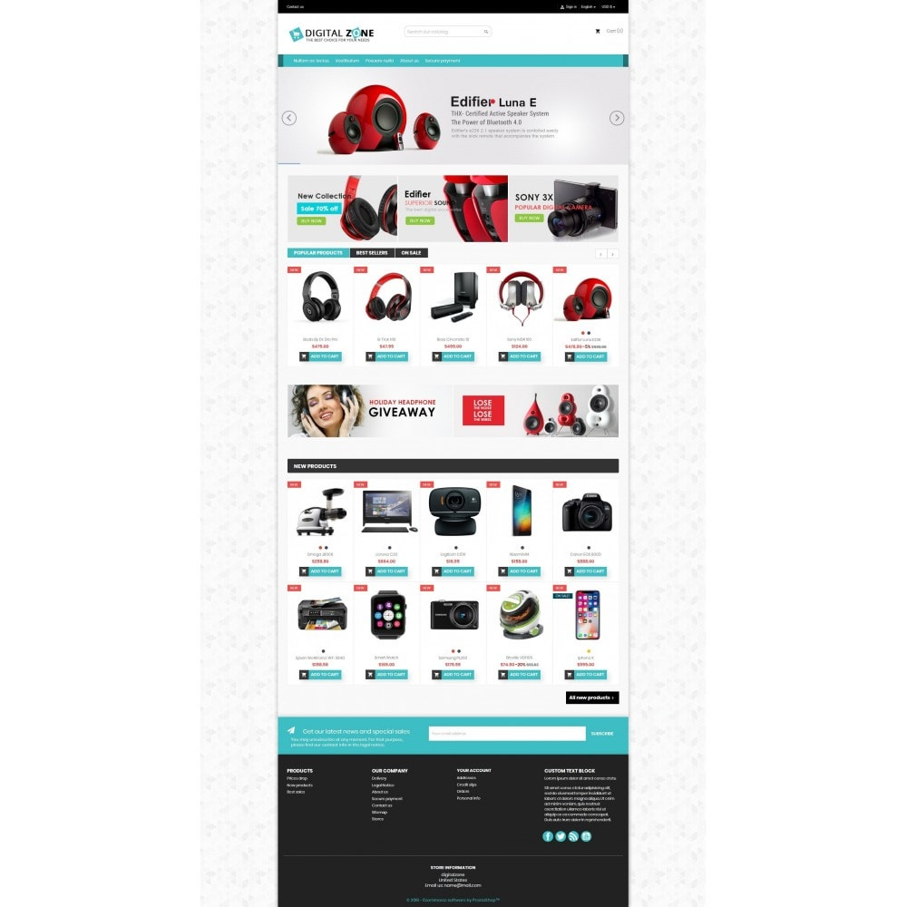theme - Elettronica & High Tech - Digitalzone Multi-purpose HTML5 - 8