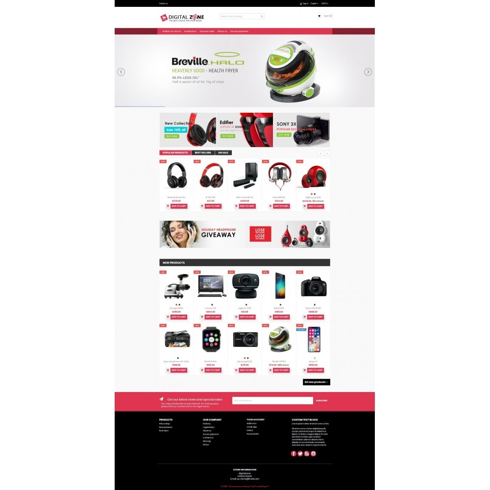 theme - Elettronica & High Tech - Digitalzone Multi-purpose HTML5 - 9