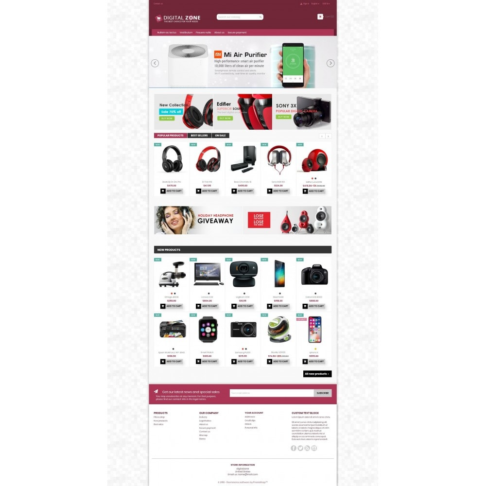 theme - Elettronica & High Tech - Digitalzone Multi-purpose HTML5 - 12