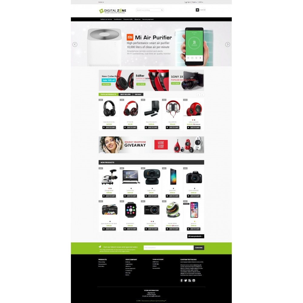 theme - Elettronica & High Tech - Digitalzone Multi-purpose HTML5 - 13