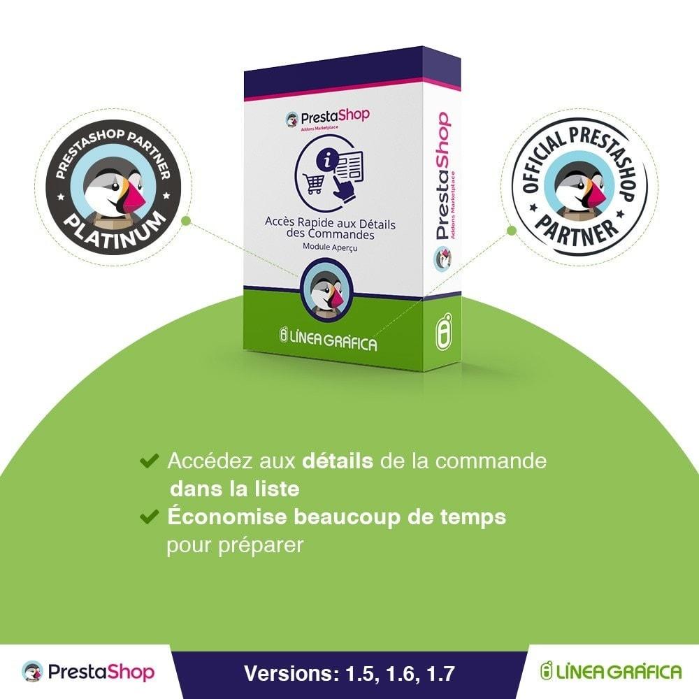 bundle - Gestion des Commandes - Affichage Pack - Gestion rapide - 3 Modules - 1