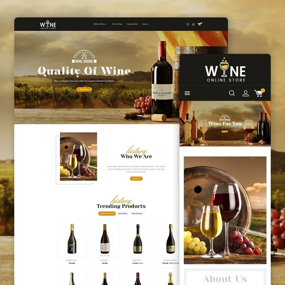 theme - Drink & Wine - Wine Yard - 1