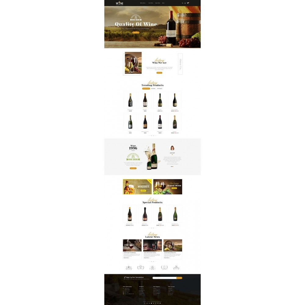 theme - Drink & Wine - Wine Yard - 2
