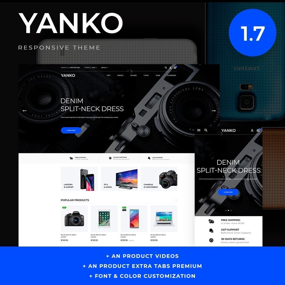 theme - Eletrônicos & High Tech - Yanko - High-tech Shop - 1