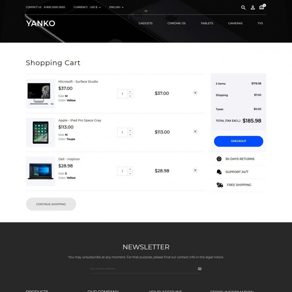 theme - Eletrônicos & High Tech - Yanko - High-tech Shop - 10