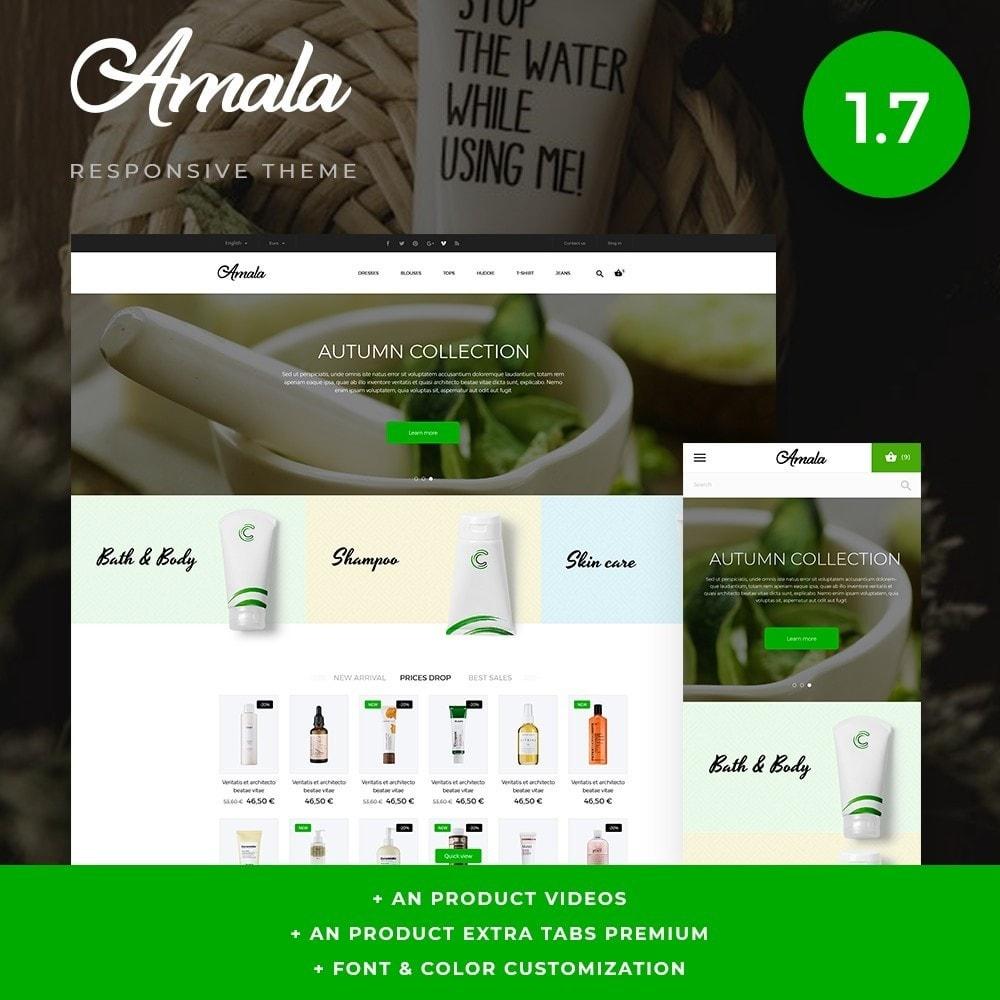 theme - Saúde & Beleza - Amala Cosmetics - 1
