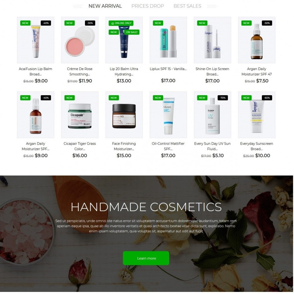 theme - Salud y Belleza - Amala Cosmetics - 3