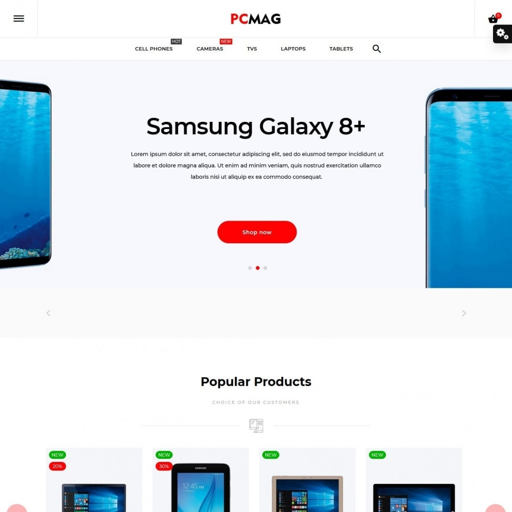 theme - Электроника и компьютеры - PCMag - High-tech Shop - 2