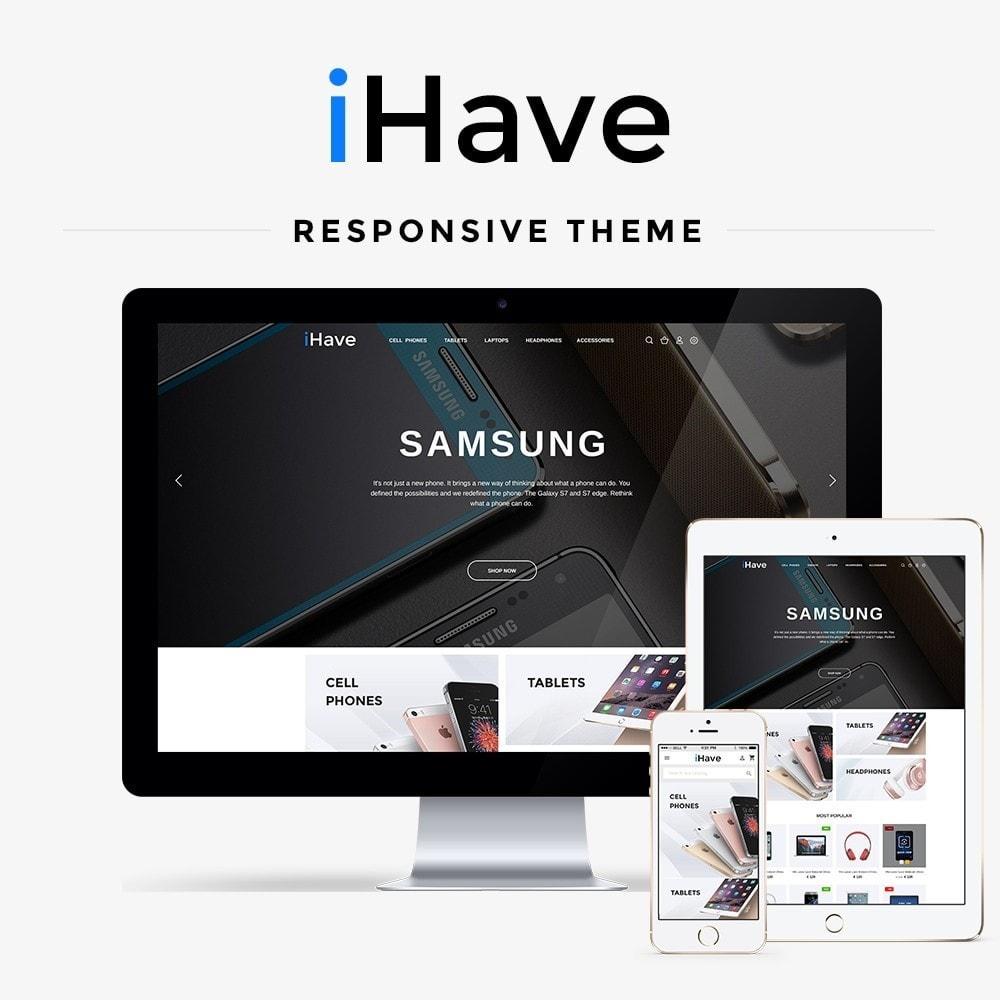 theme - Electronique & High Tech - iHave - High-tech Shop - 1