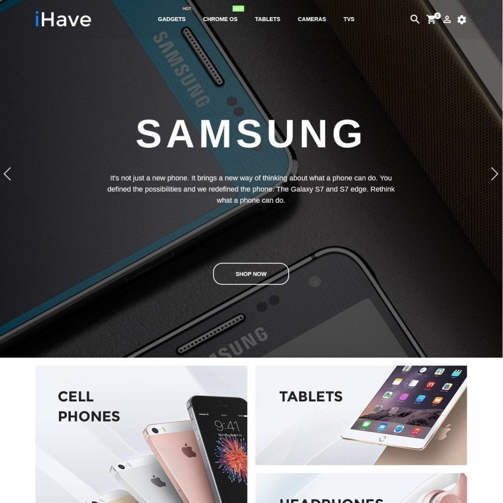 theme - Elektronika & High Tech - iHave - High-tech Shop - 2