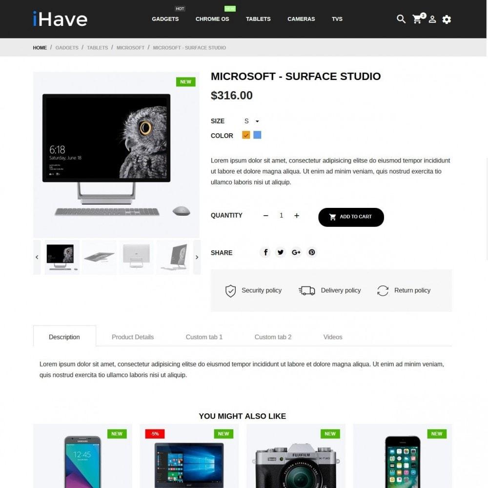 theme - Electronique & High Tech - iHave - High-tech Shop - 6