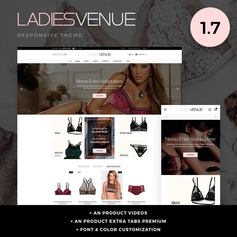 theme - Bielizna & Dorośli - Ladiesvenue Lingerie Shop - 1