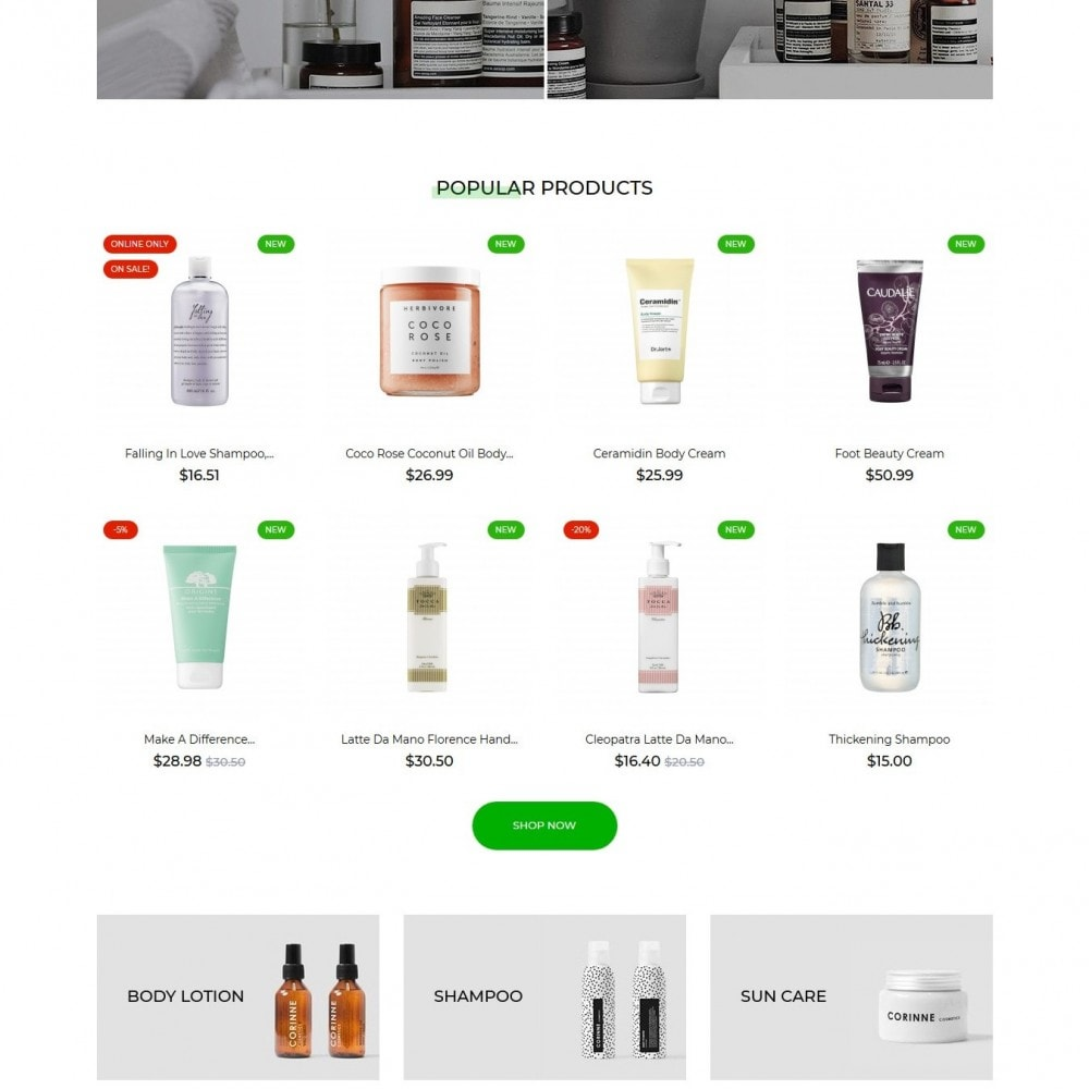 theme - Health & Beauty - Vincentia Cosmetics - 3