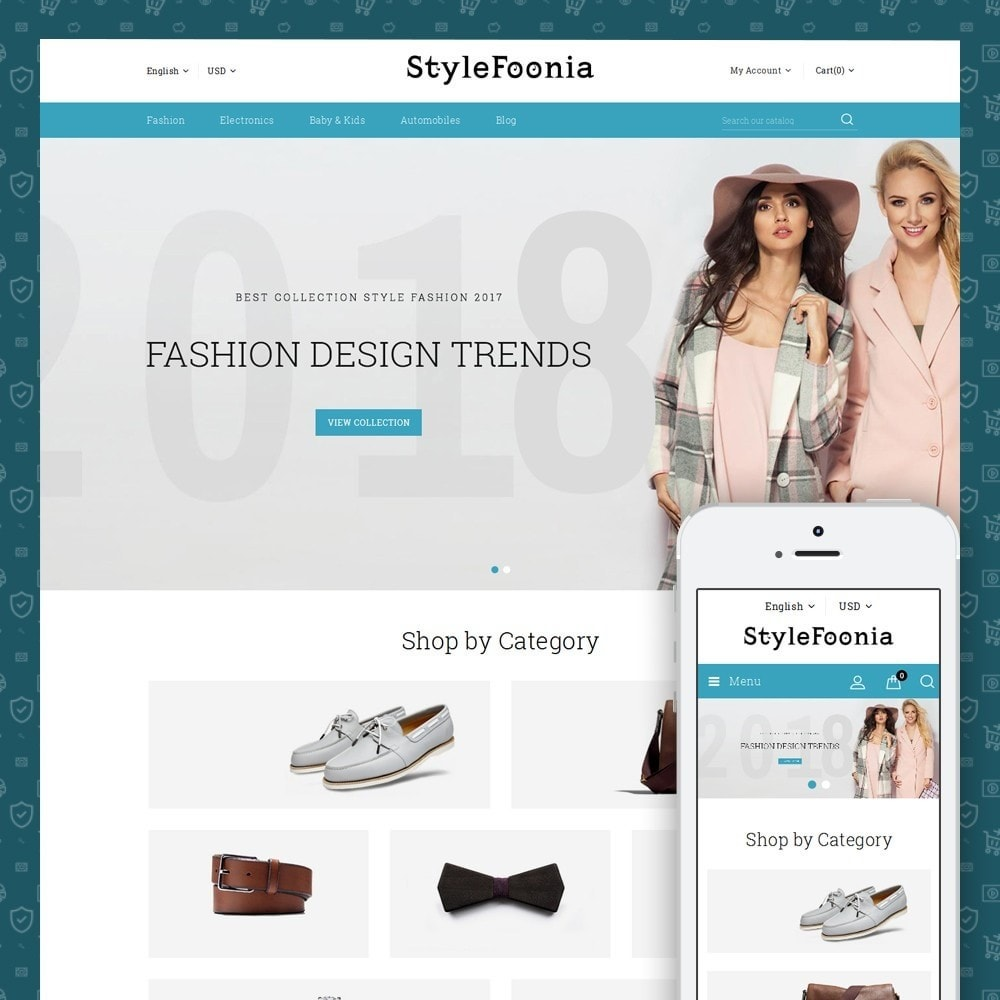 theme - Mode & Schoenen - Style Foonia - Fashion Store - 1