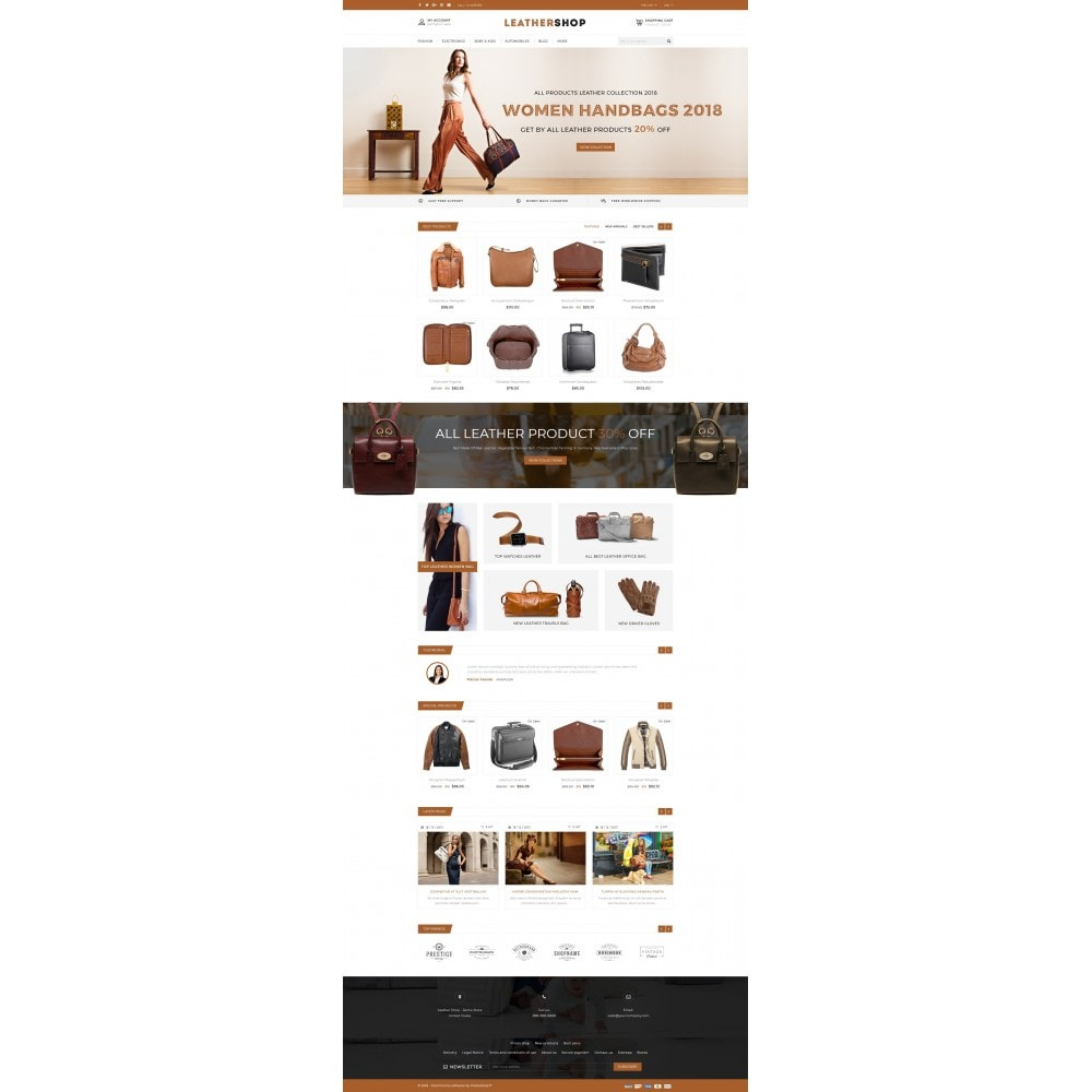 theme - Moda y Calzado - Leather Shop - 2