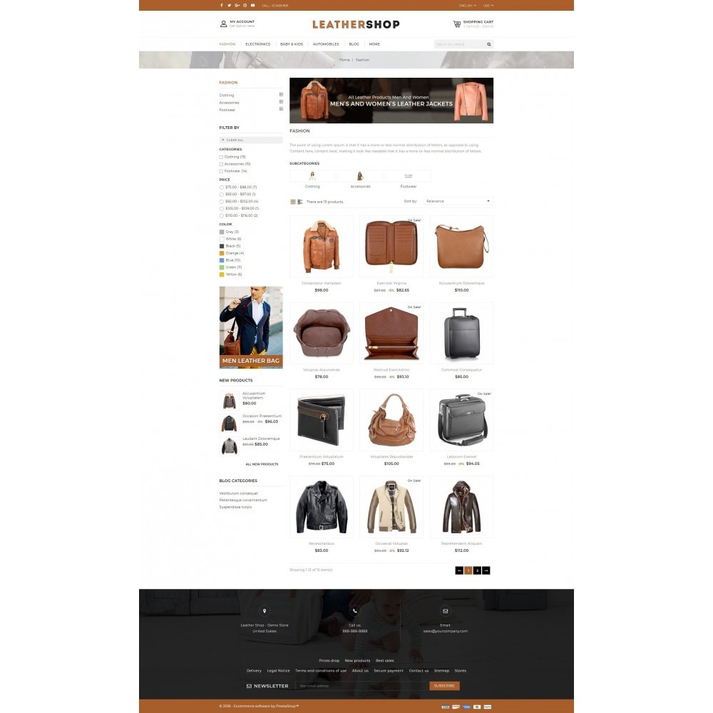 theme - Moda y Calzado - Leather Shop - 3