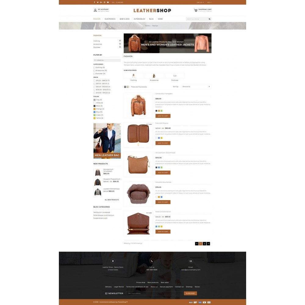 theme - Moda y Calzado - Leather Shop - 4