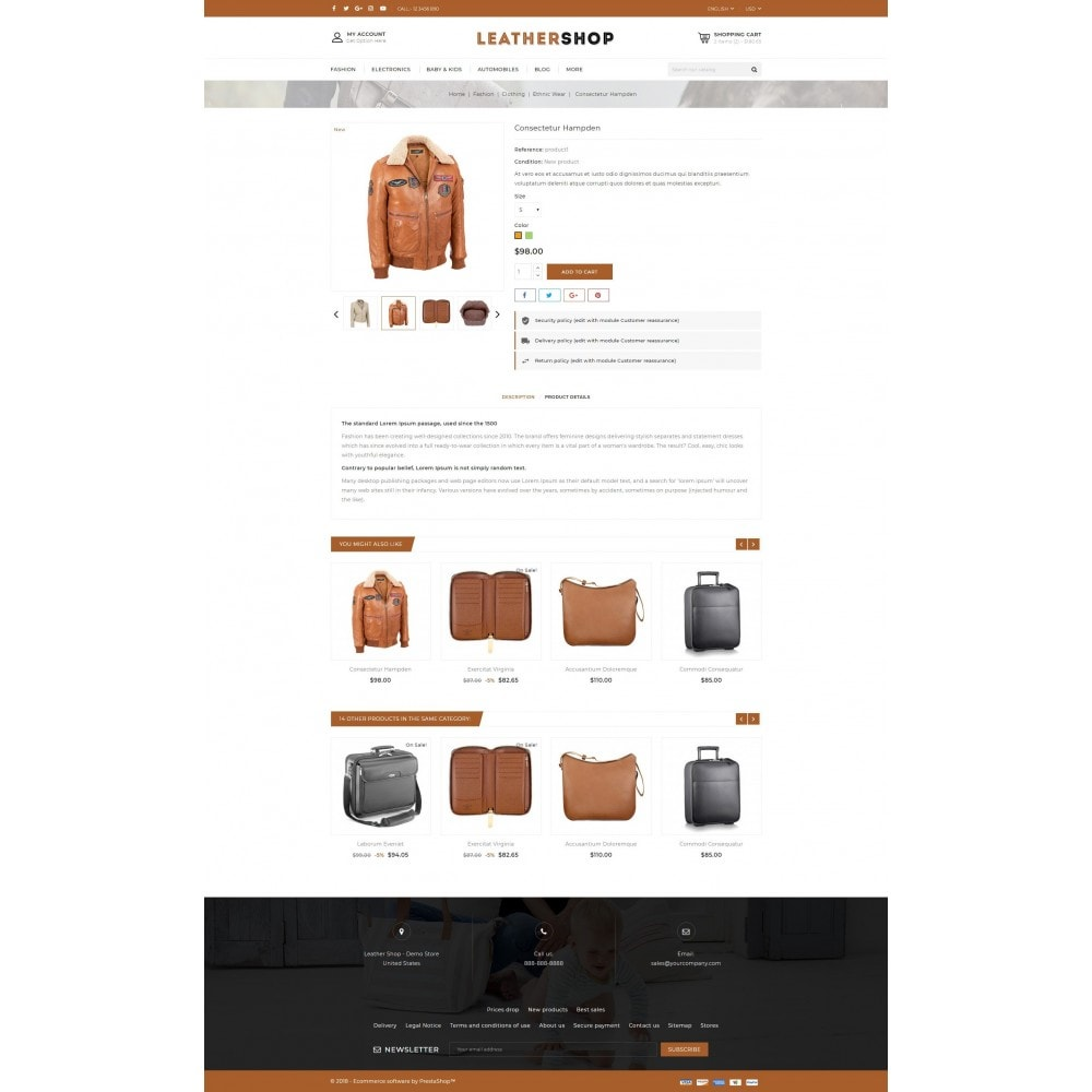 theme - Moda y Calzado - Leather Shop - 5
