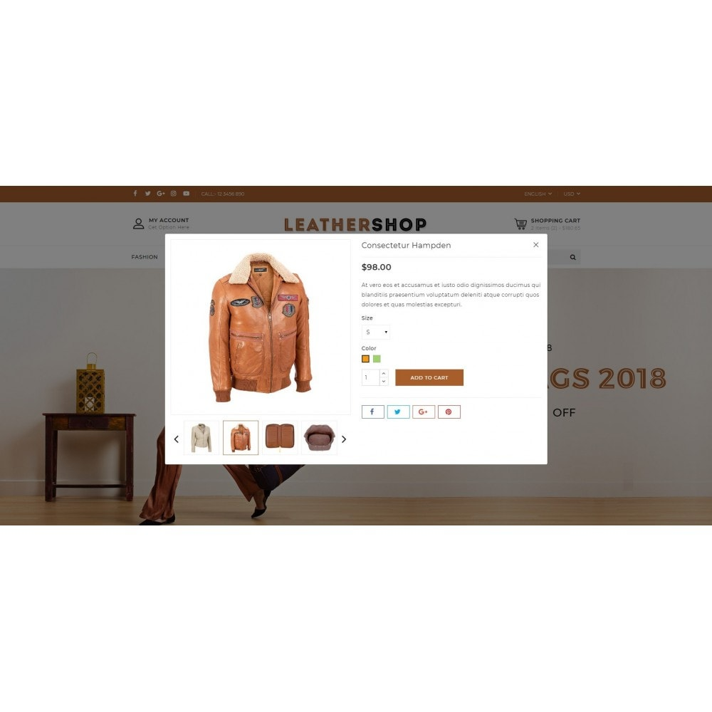 theme - Moda y Calzado - Leather Shop - 7