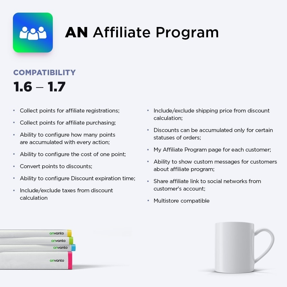 module - Programa de Fidelidad - AN Affiliate Program - 1
