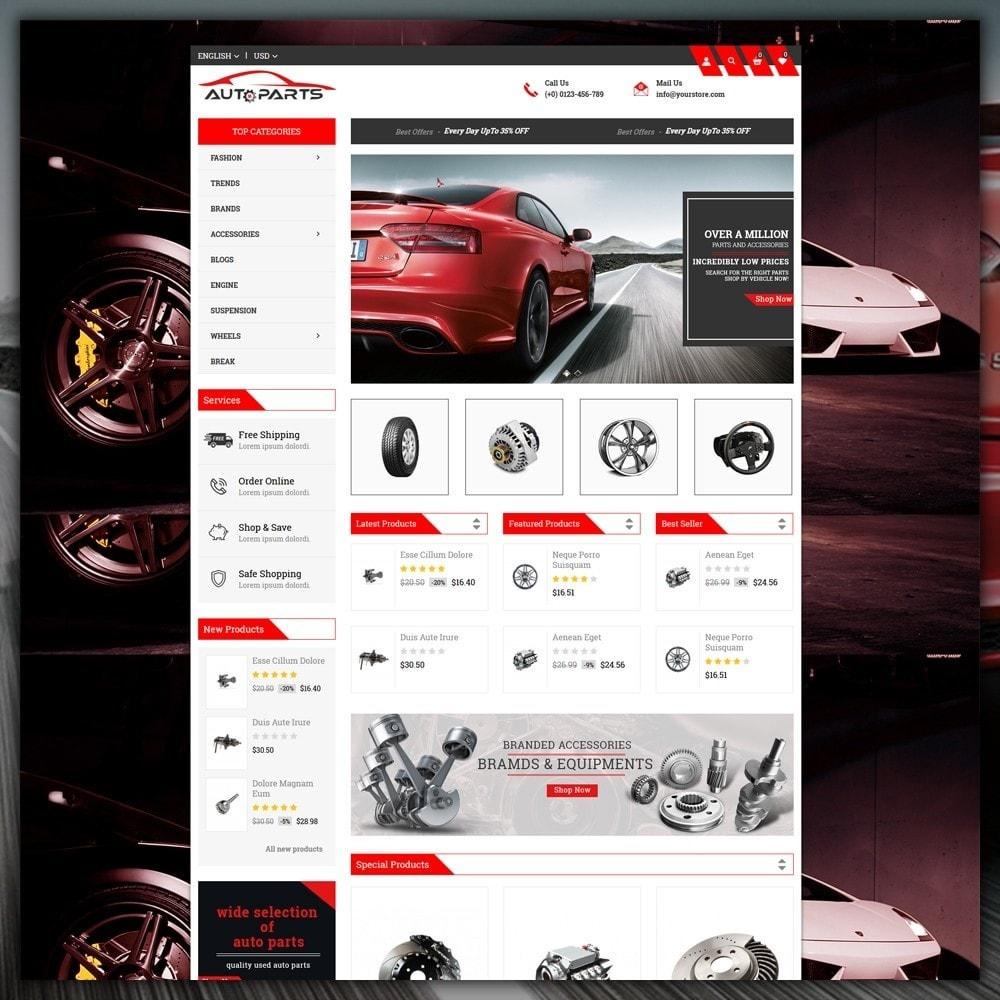 theme - Coches y Motos - Auto Parts Store - 2