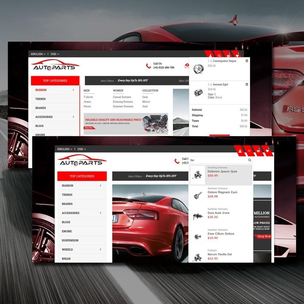 theme - Automotive & Cars - Auto Parts Store - 3
