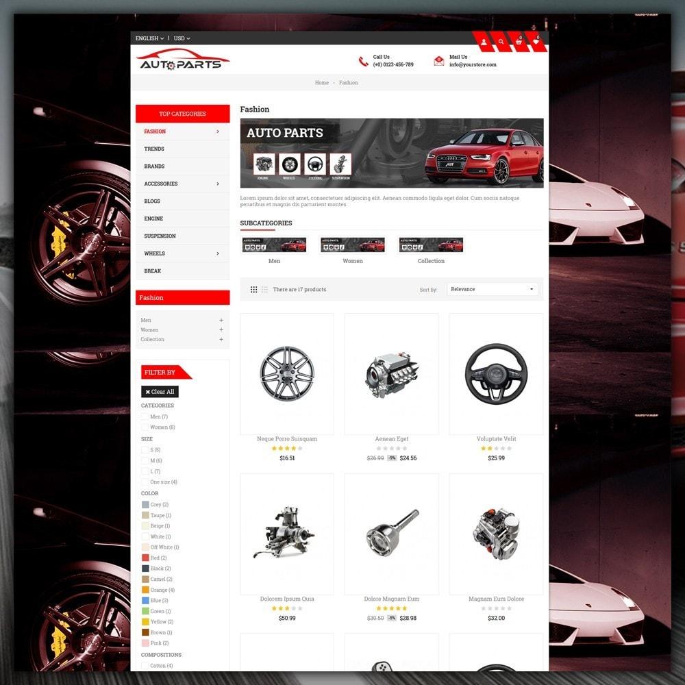 theme - Automotive & Cars - Auto Parts Store - 4