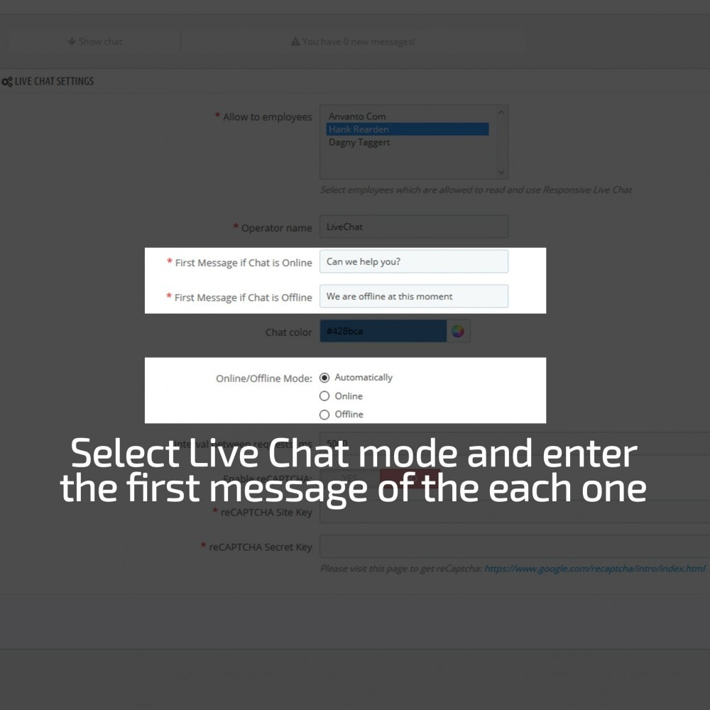 module - Support & Online-Chat - AN Responsive Live Chat - 10